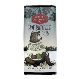 Seattle Chocolates - Hot Buttered Rum Truffle Bar - 2.5 oz