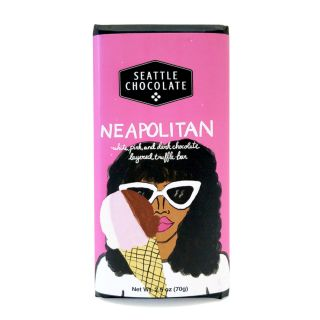 Seattle Chocolates - Neapolitan Truffle Bar - 2.5 oz