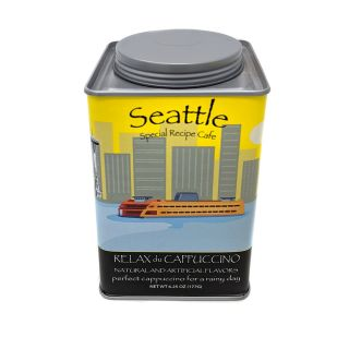 Seattle Relax du Cappuccino - Perfect Cappuccino for a Rainy Day Mix - 6.25oz