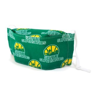 Seattle Supersonics Face Mask