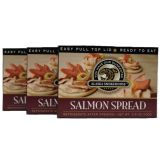 Smoked Wild Salmon Spread Pate - Best Price: 3 tins (10.5 oz)