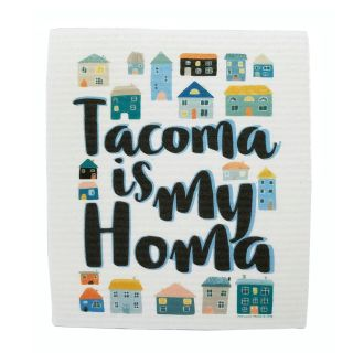 Tacoma is My Homa - Swedish Dishcloth
