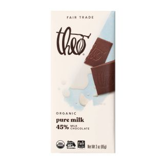 Theo Chocolate - Pure Milk Chocolate Bar - 3oz