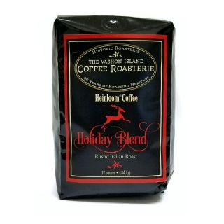 Vashon Island Coffee Roasterie - Holiday Blend - 12oz Whole Bean