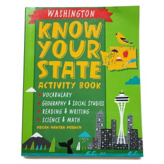Washington Know Your State Activity Book