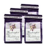 Washington Wild Huckleberry Tea - Best Price 4 Bags (60 tea bags)