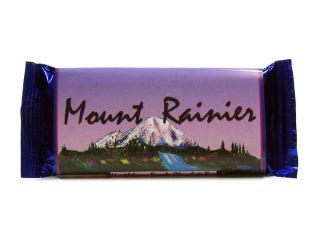 Wild Huckleberry Razzle Chocolate Bar, Mt. Rainier - 4.5 oz