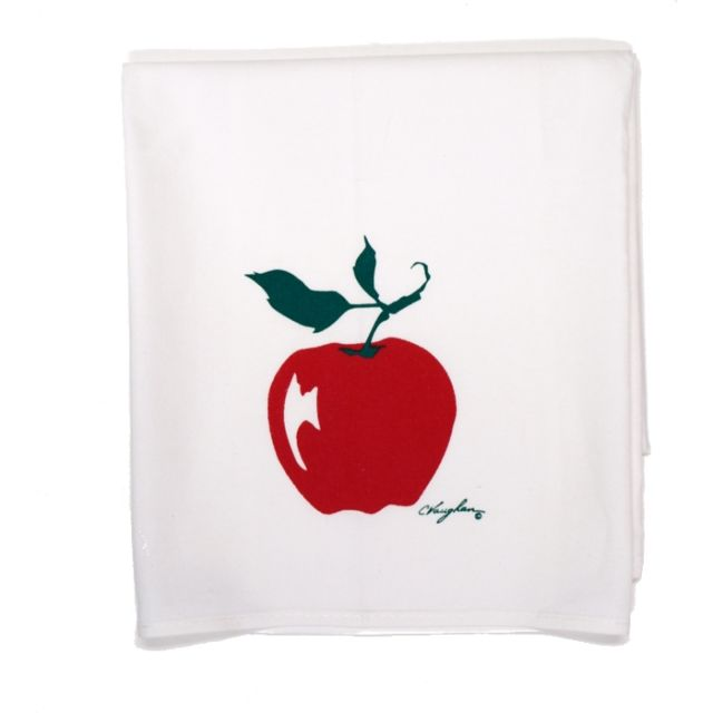 100% Cotton Kitchen Towel - Apple - 25