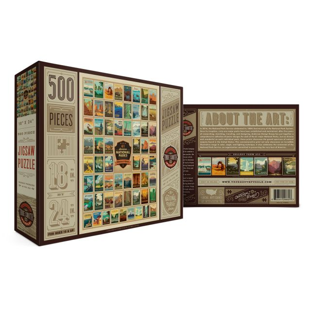 500 Pieces National Parks Puzzle