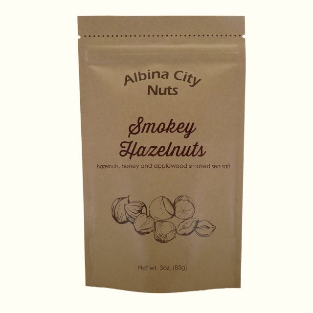 Albina City Nuts - Smokey Hazelnuts - 3oz