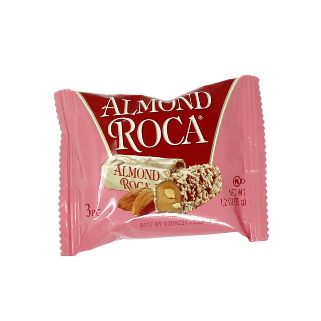 Almond Roca 3pc Buttercrunch Toffee - 1.2oz