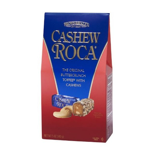 Almond Roca's Cashew Roca - 5 oz stand up box