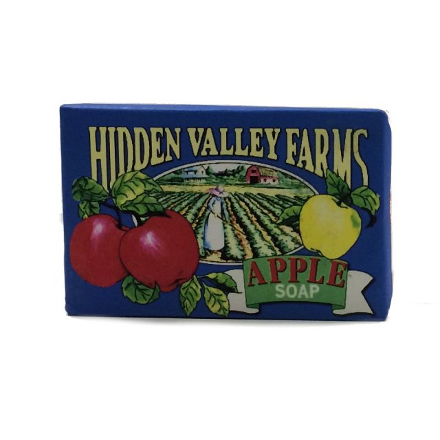 Apple Soap - Hidden Valley Farms - 3.4 oz