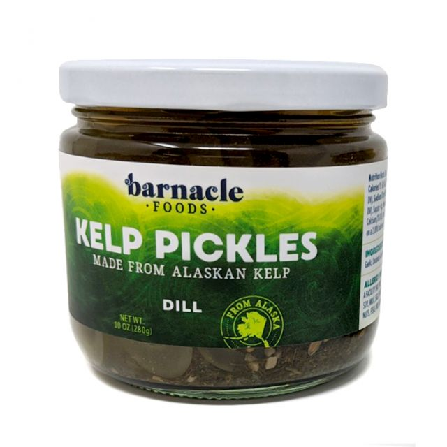 Barnacle Foods - Dill Alaskan Kelp Pickles - 10oz