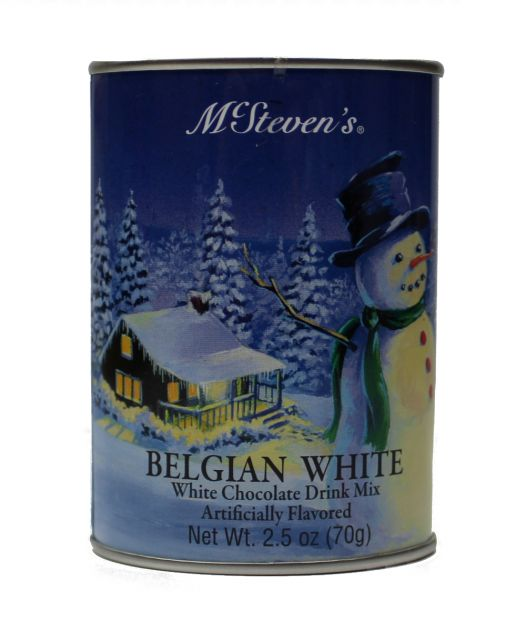 Belgian White Chocolate Cocoa Mix - McStevens - 2.5 oz