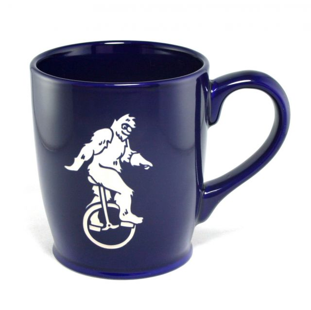 Bigfoot Mug - Dark Blue - 16 oz