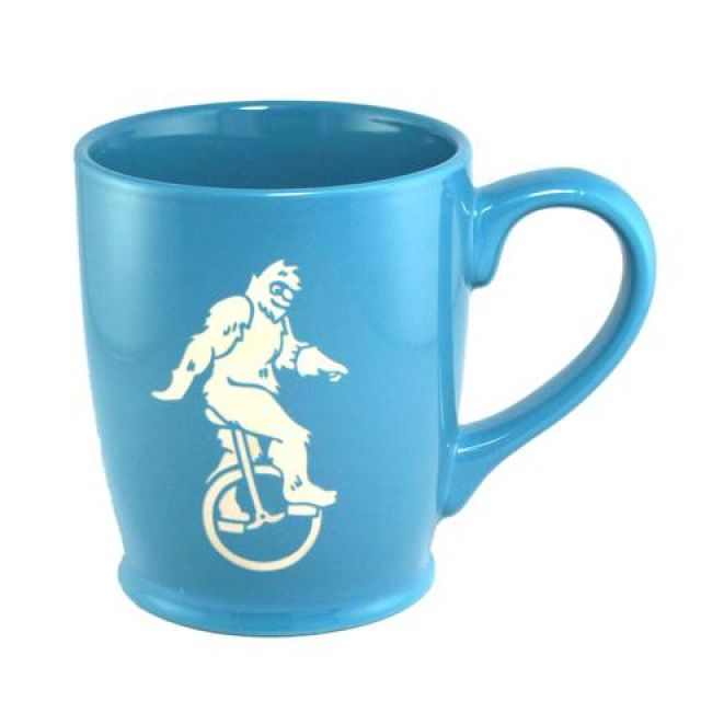Bigfoot Mug - Light Blue - 16 oz