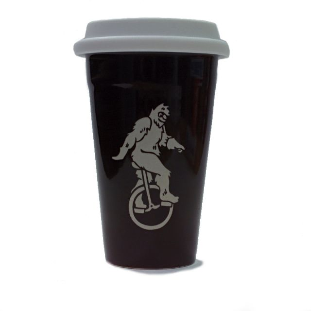 Bigfoot Travel Mug - Brown - 16 oz