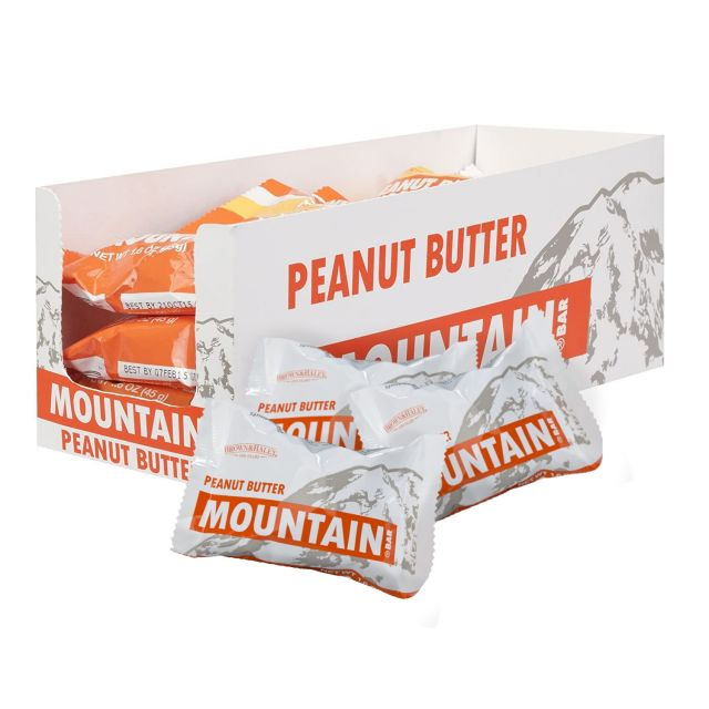 Brown & Haley Mountain Bars - Peanut Butter - Case of 15