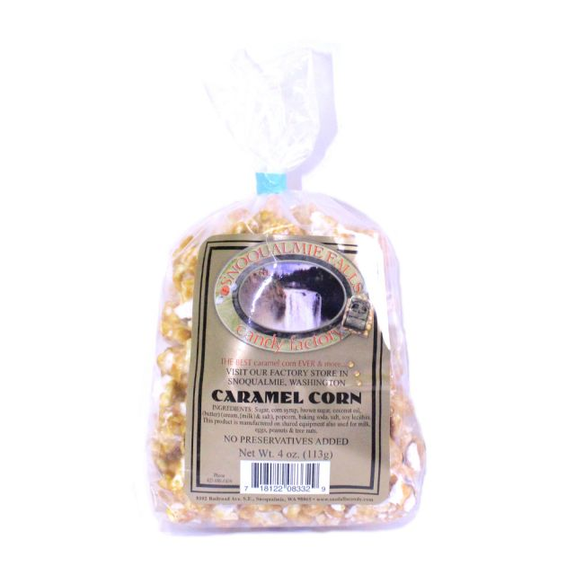 Caramel Corn - by Snoqualmie Falls Candy Factory, 4 oz.
