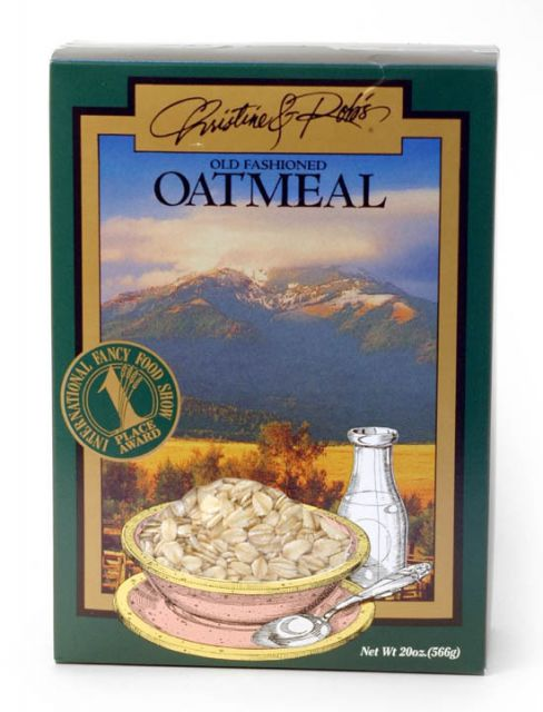Christine and Rob's Old Fashioned Oatmeal - 20 oz