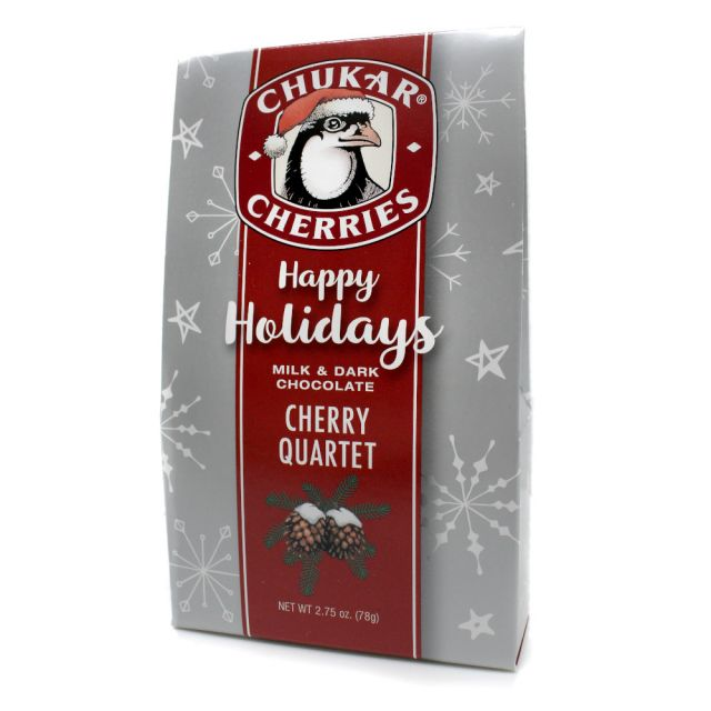 Chukar Cherries - Holiday Cherry Quartet - 2.75 oz