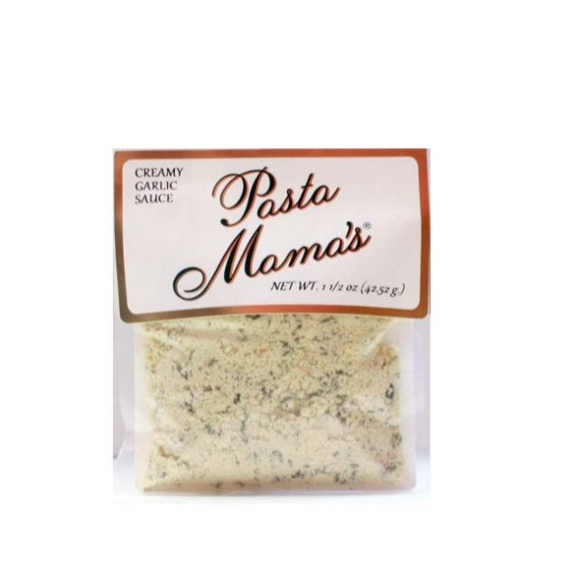 Creamy Garlic Sauce by Pasta Mama's - 1.5 oz (42.52g)