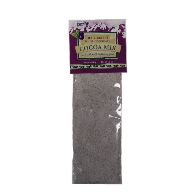 Dorothy Homemade Cocoa Mix - Huckleberry White Chocolate - 1.5 oz