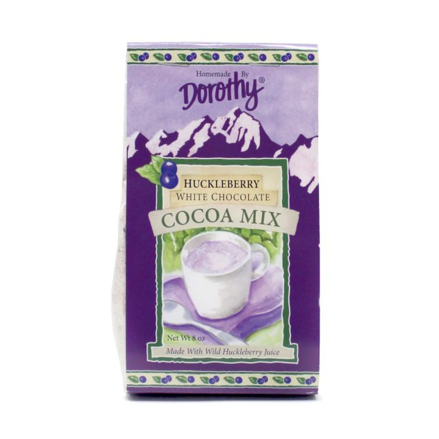 Dorothy Homemade Huckleberry White Chocolate Cocoa Mix - 8 oz