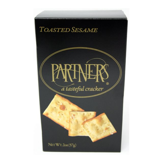 Flatbread Crackers - Toasted Sesame - 2 oz