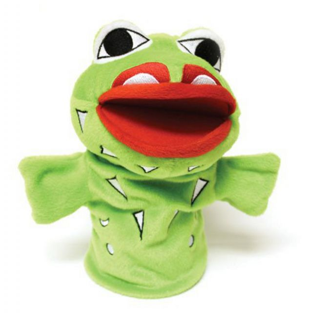 Hand Puppet - Wakus The Frog Puppet