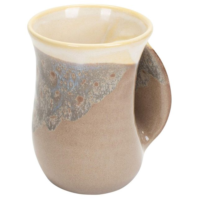 Handwarmer Mug - Desert Sand - Right Handed - 5'' height