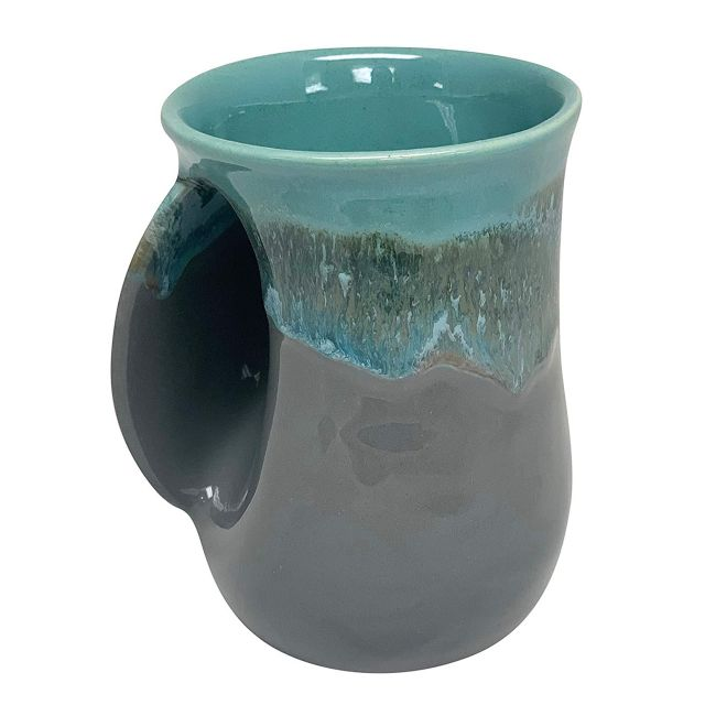 Handwarmer Mug - River Stone - Left Handed - 5'' height