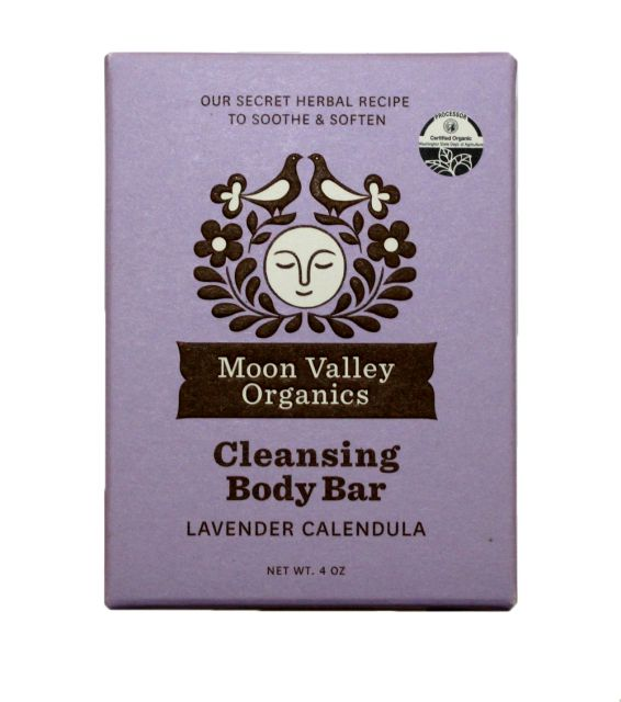 Lavender Calendula Bar Soap - Moon Valley Organics - 4oz