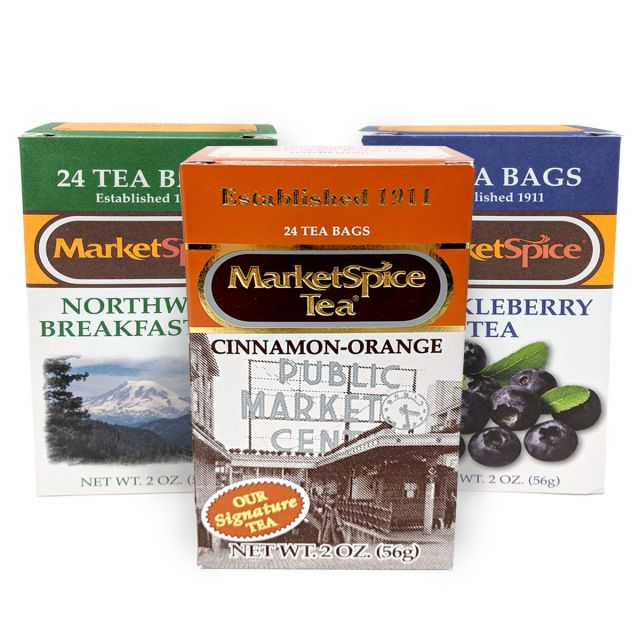 Market Spice Tea Sampler Trio Best Price: 72 bags (3 boxes)