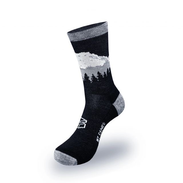 Medium Merino Wool Blend Mount Rainier Socks