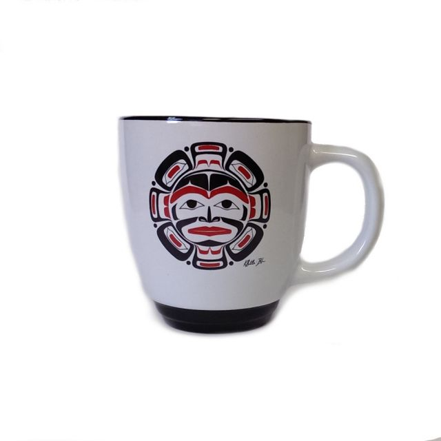 Native American Moon Design Mug
