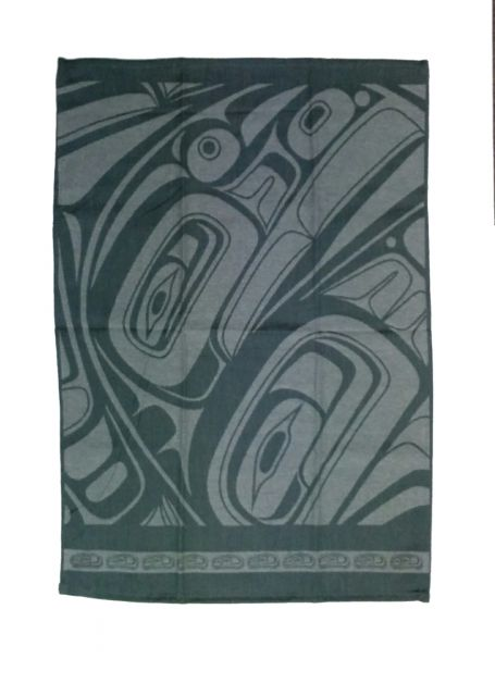 Native American - Pacific Spirit Design - Tea Towel