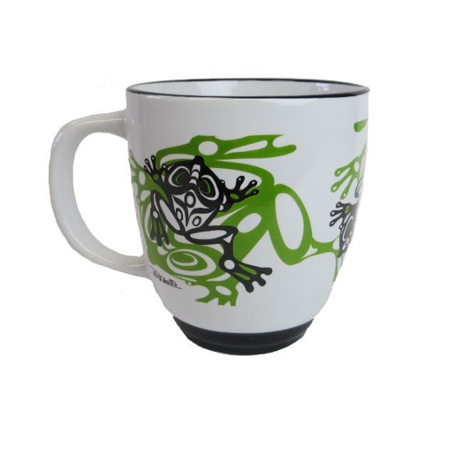 North Coast Indian Frog Design Mug