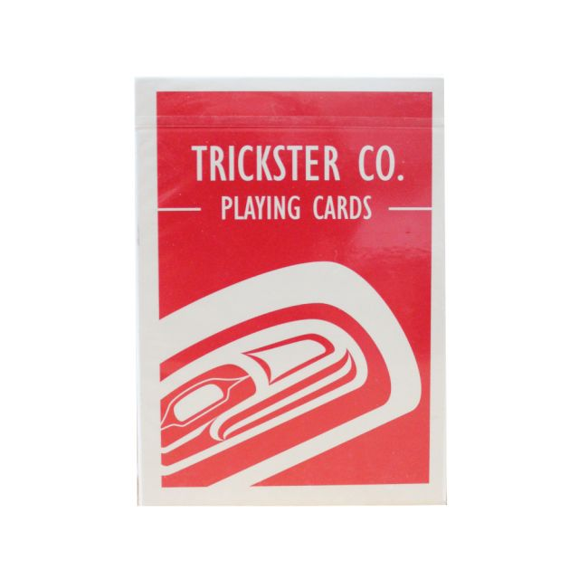 Northwest Coast Indian - Trickster Raven - Playing Cards
