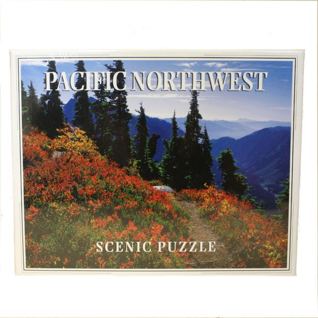 Pacific Northwest Scenic Puzzle - Photo by Larry Burton - 300 pieces