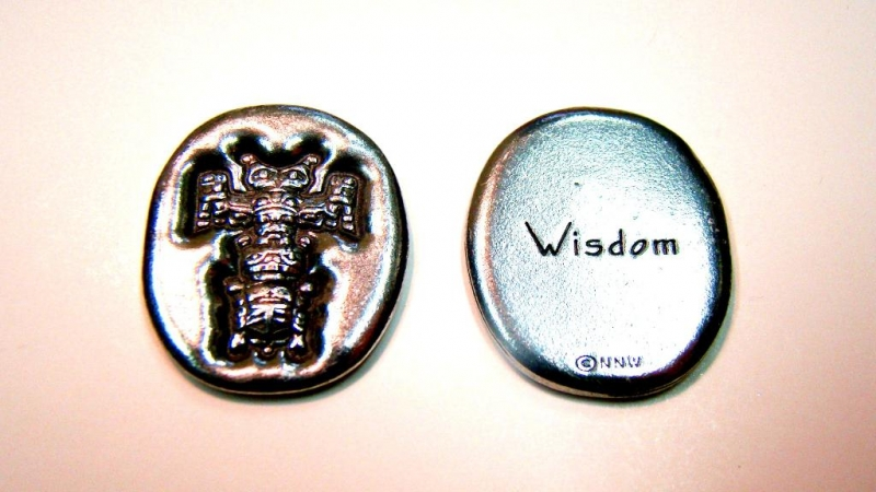 Pocket Spirit - Totem (WISDOM) - by Ryan Cranmer, Namgis
