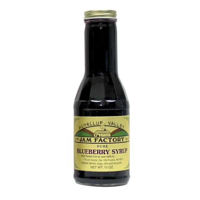 Puyallup Valley Jam Factory - Blueberry Syrup - 15 oz