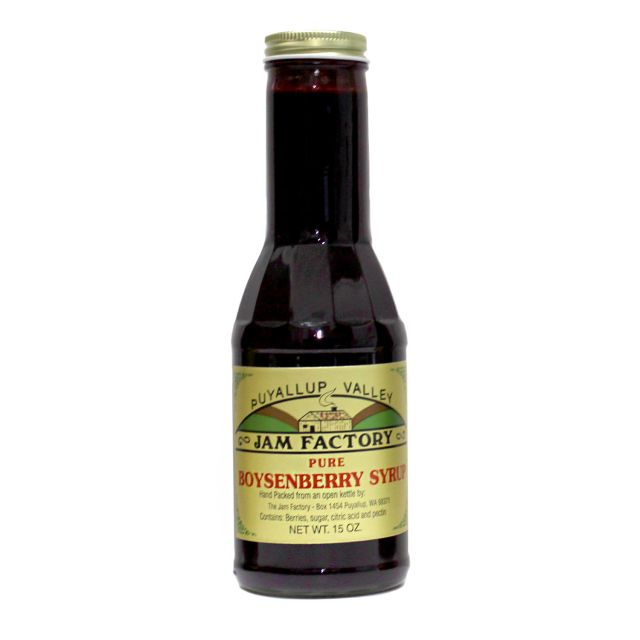 Puyallup Valley Jam Factory - Boysenberry Syrup - 15 oz