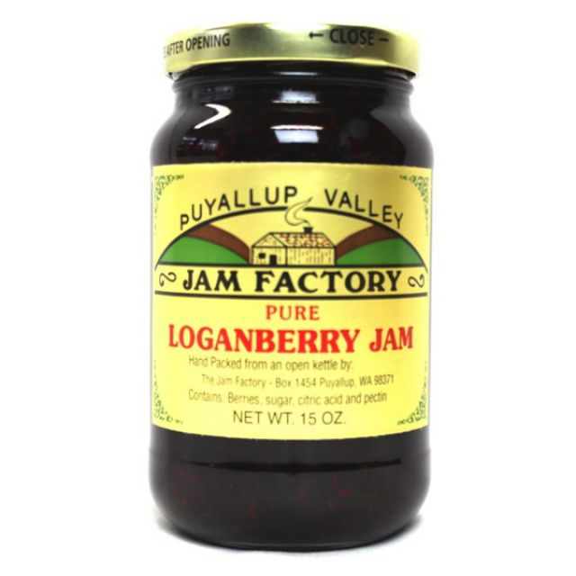Puyallup Valley Jam Factory - Loganberry Jam - 15oz