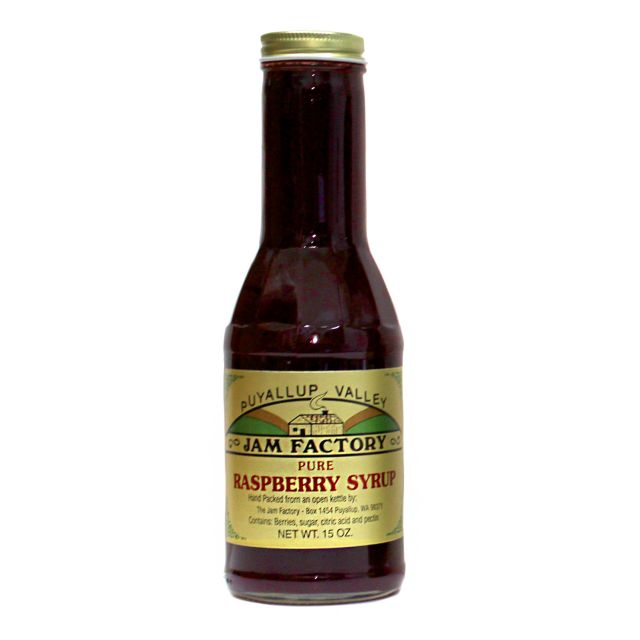 Puyallup Valley Jam Factory - Raspberry Syrup - 15 oz
