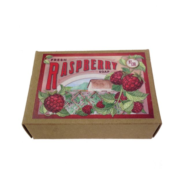 Raspberry Soap - Smellwell's - 4.5oz