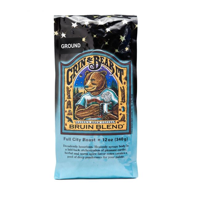 Raven's Brew - Bruin Blend Full City Roast Coffee - 12oz Ground