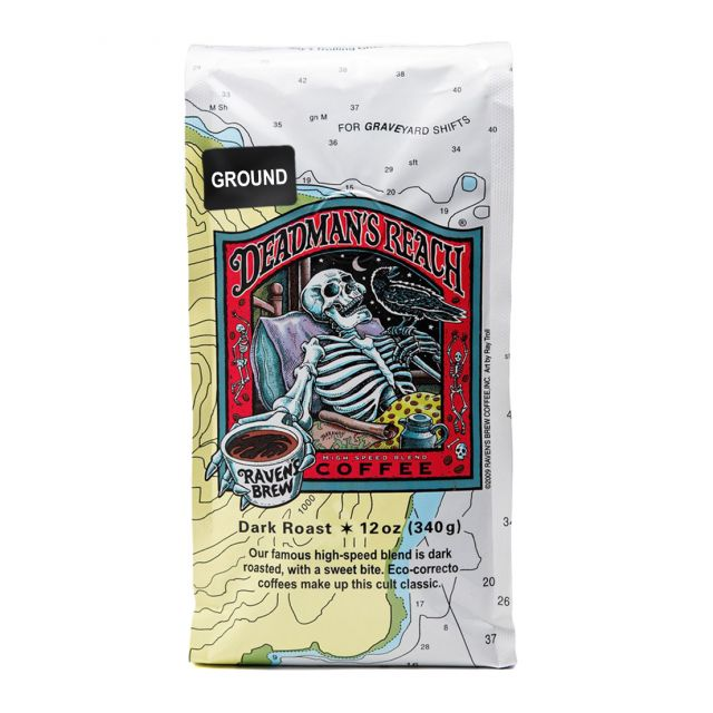 Raven's Brew - Deadman's Reach Dark Roast Coffee - 12oz Ground