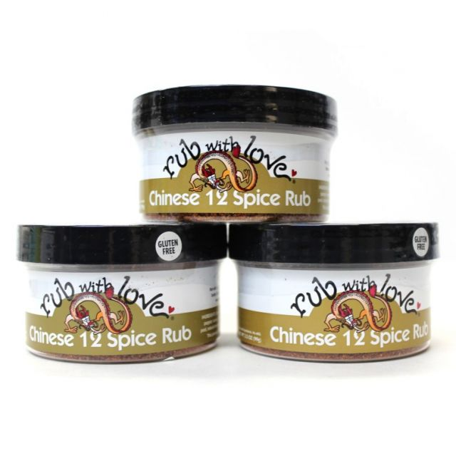 Rub With Love Chinese 12 Spice Rub - Special Offer: 10% off 3 tubs